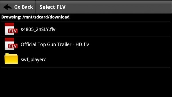 FLV Video Player-Android