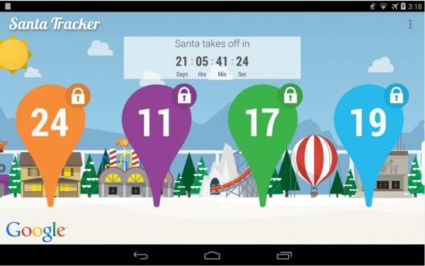 Google Santa Tracker-android