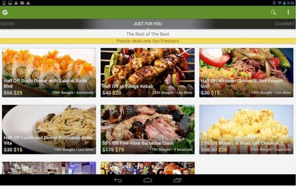 Groupon-Android