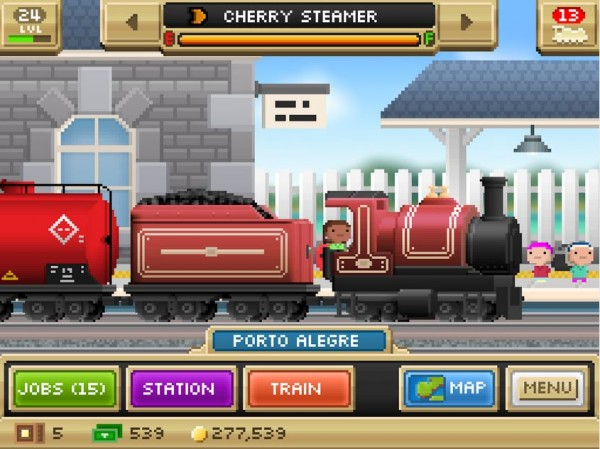 Pocket Trains-Android