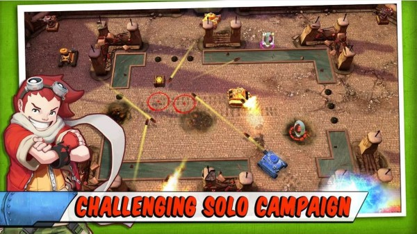 Tank Battles-android