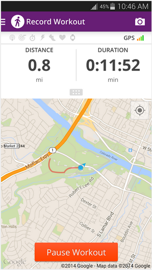 Walkwith-Android