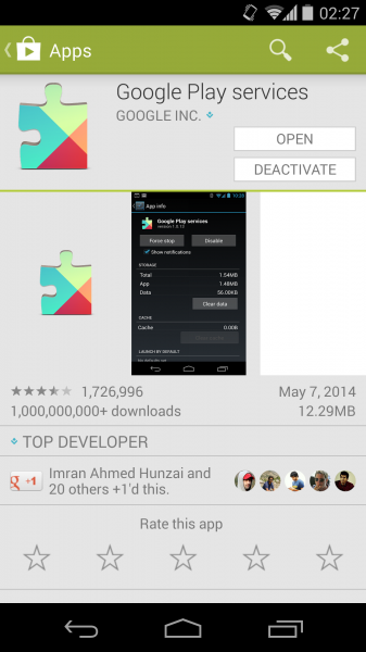 Google-Play-Services-Android