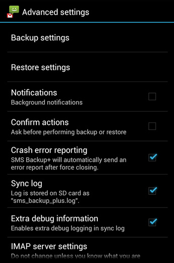 SMsBackup-Android