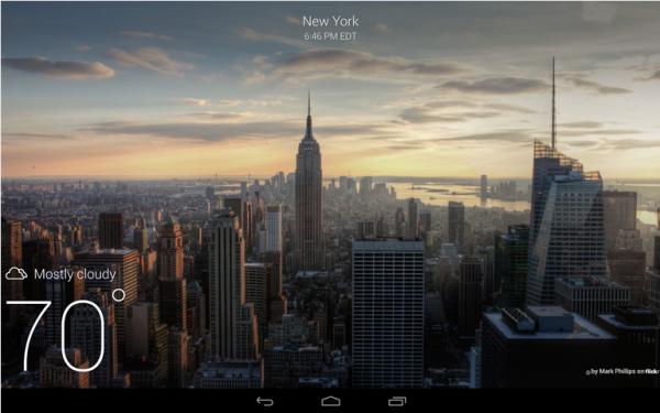 Yahoo Weather-Android