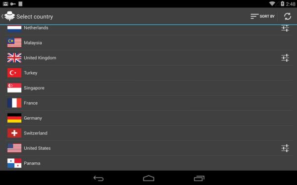 Hideman VPN-Android