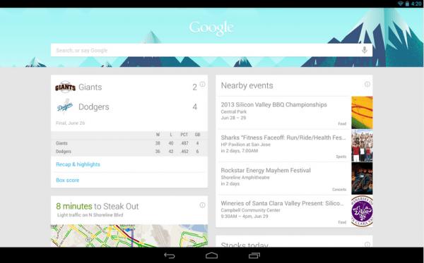 GoogleNow-Android
