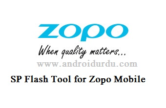 SP Flash Tool for Zopo Mobile