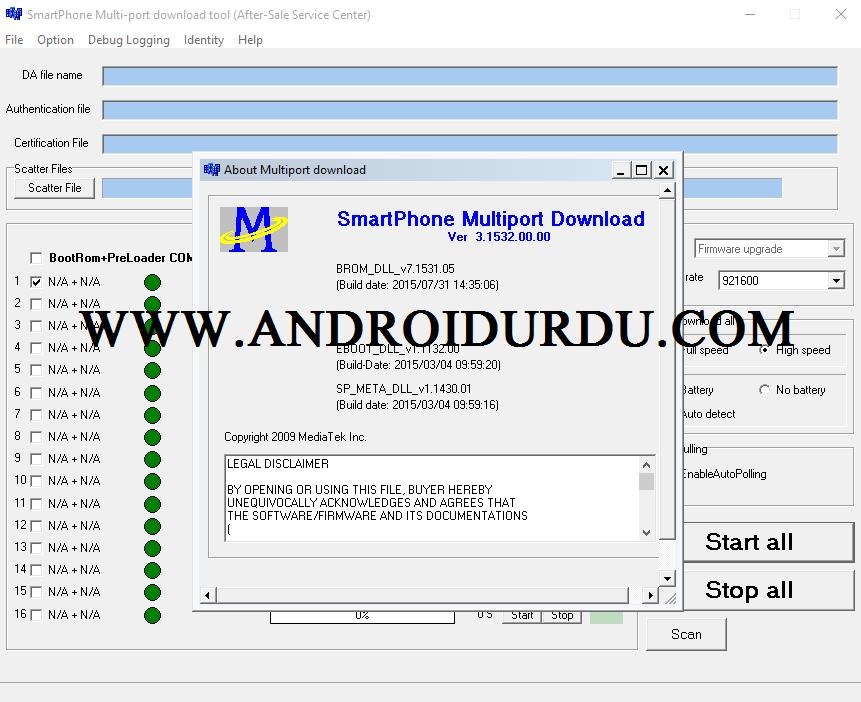 Download MTK SP MultiPort v3.1532