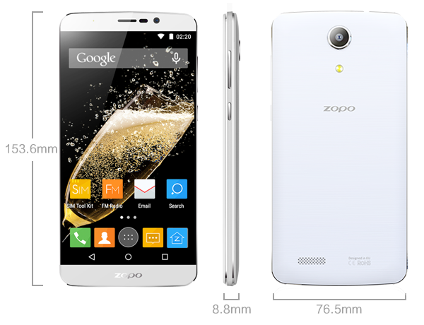 Zopo SPEED 7 PLUS New firmware available