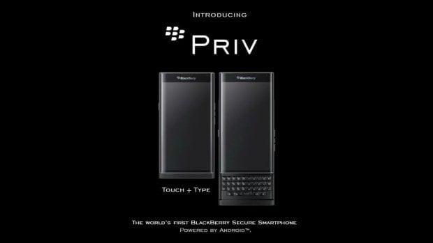 Blackberry Priv Stock Wallpapers