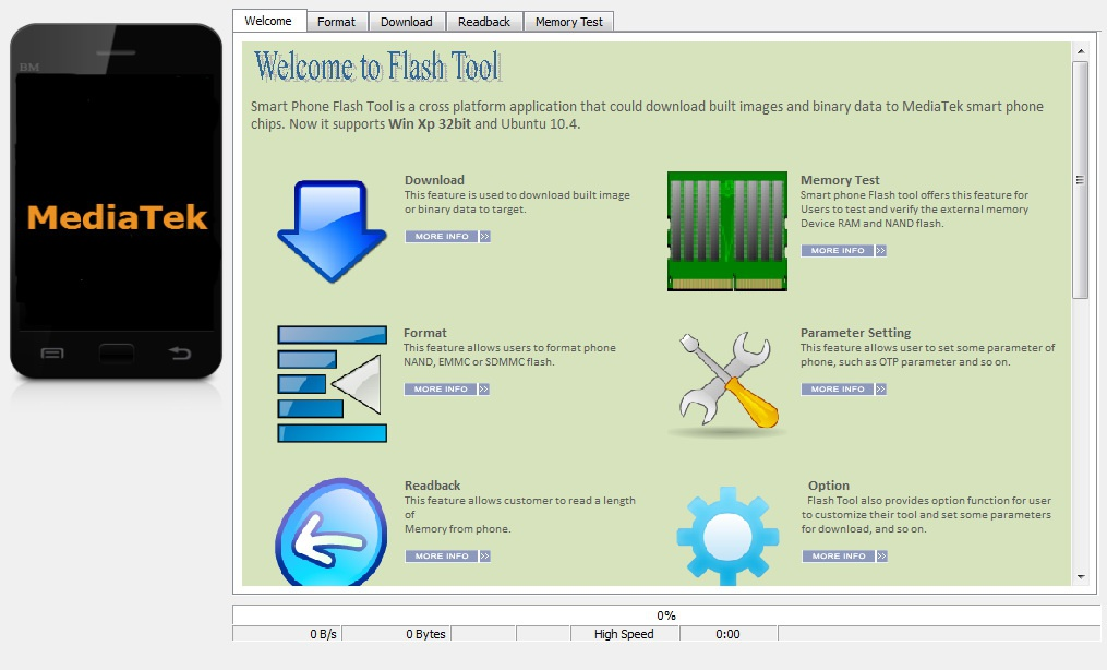 Download Latest Version of SP Flash Tools v5.1620