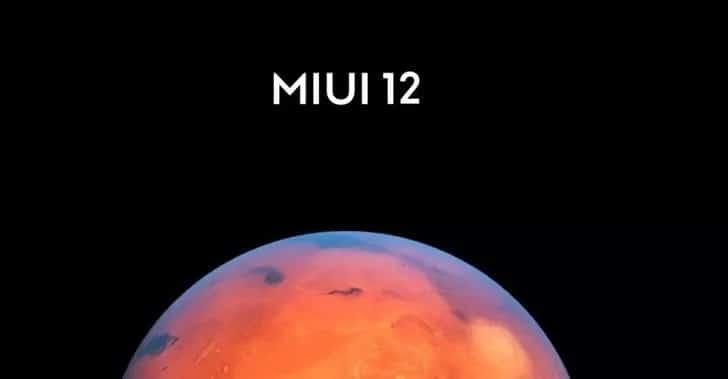 MIUI 12 firmware